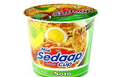 Cup Noodle Sedaap Mie