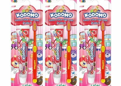 Kodomo Toothbrush 2 In 1 4